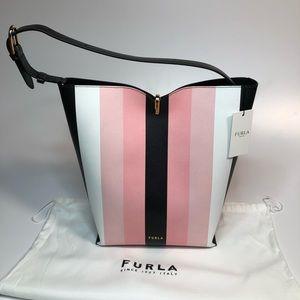 FURLA Ribbon Bucket Shoulder Bag